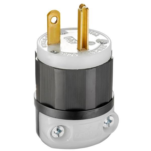 Plug Ind Grade Stright Blade 6-20P