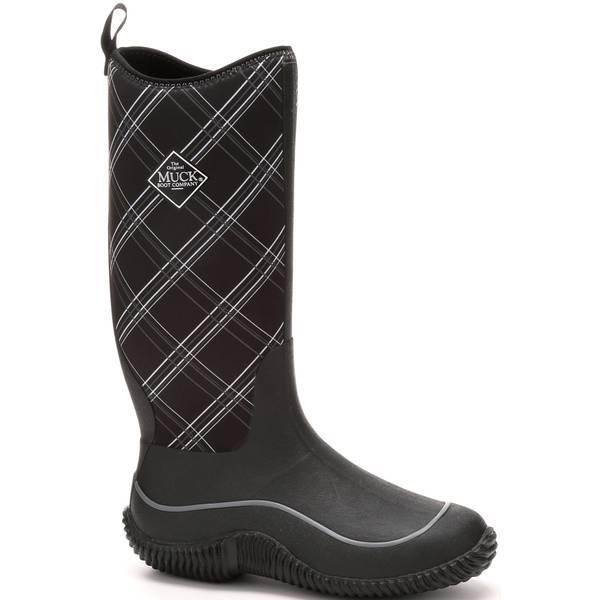 Women's Hale Plaid 4mm Neoprene Boots Black