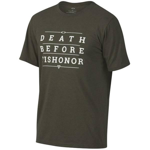 Men's Dark Brush & Dark Heather 50-Death Dishonor Tee