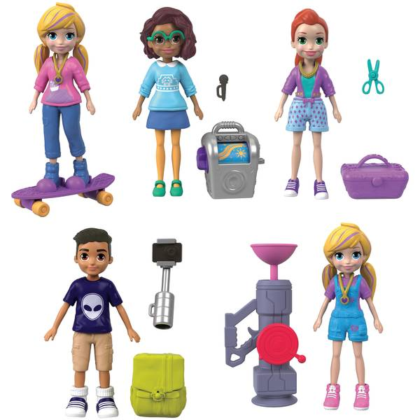 Polly Pocket Active Pose Doll Assortment