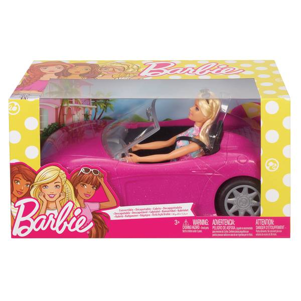Barbie Doll and Convertible