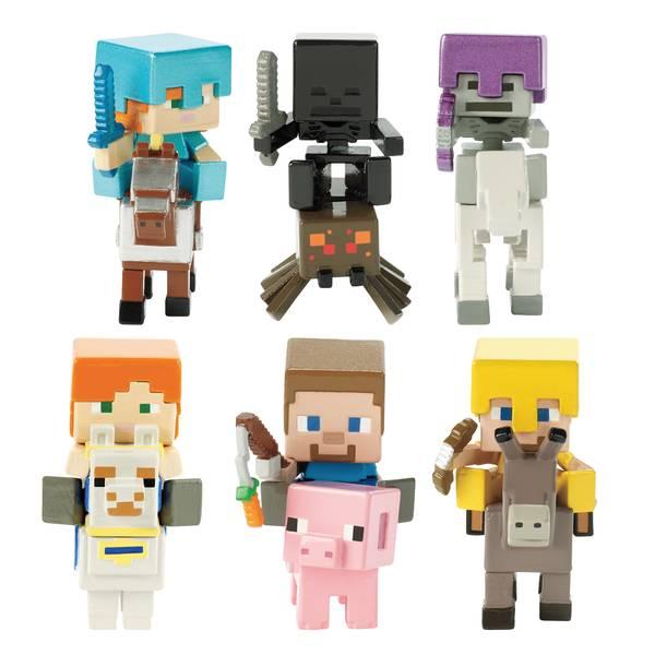 Minecraft Deluxe Mini Figure Rider Assortment