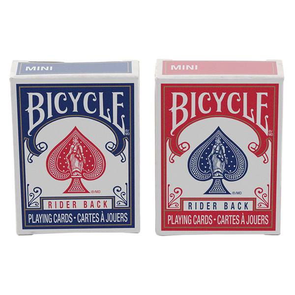 Mini Red & Blue Playing Cards Assortment