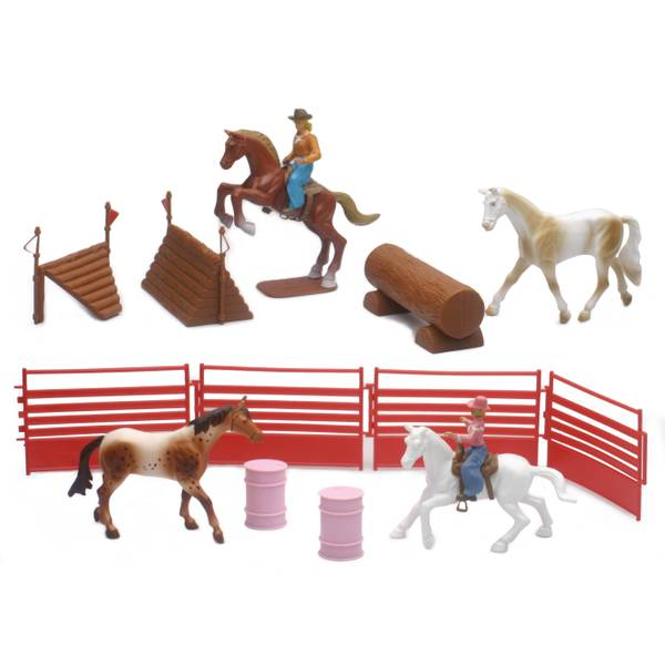 Valley Ranch 1:18 Horse Playset Assortment