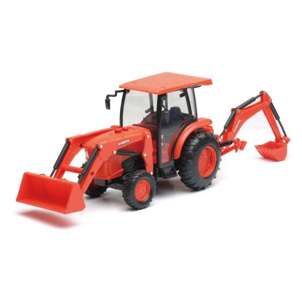 Kubota Farm Tractor with Loader and Backhoe