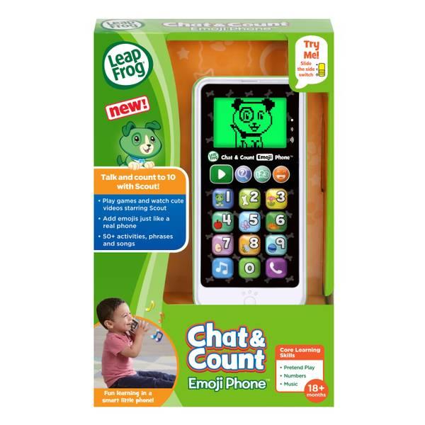 Chat & Count Phone Emoji