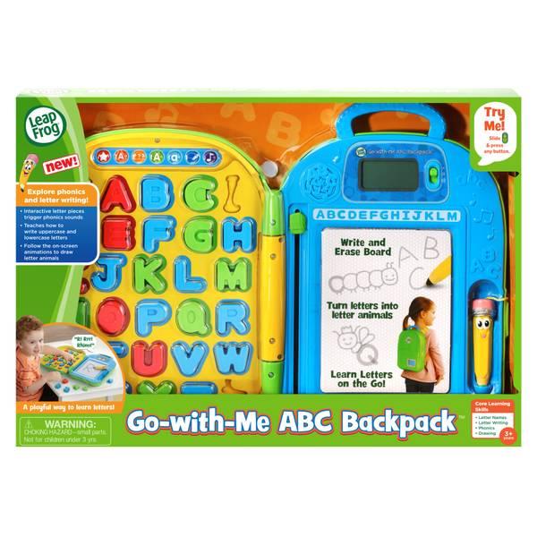 Learning Letters Alphabet Bag