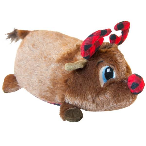 Petstages Fattiez Reindeer Dog Toy Assortment