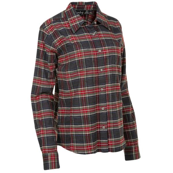 Plaid Flannel Flannel Shirt Women's Stretch Women's Stretch Plaid f76Ybgyv