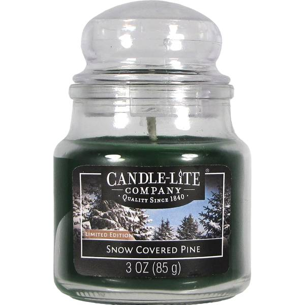 3 oz Snow Covered Pine Jar Candle