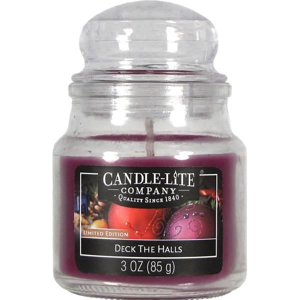 3 oz Deck the Halls Jar Candle