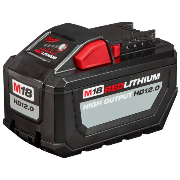 Milwaukee M18 Red Lithium Hd 12 0 Battery Pack
