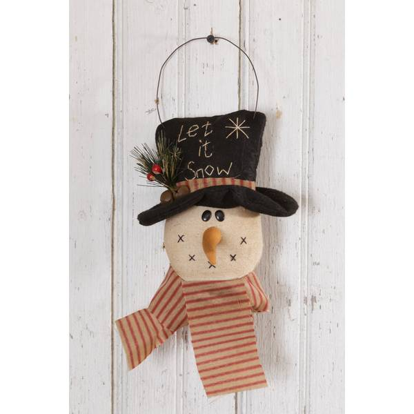 Snowman Let It Snow Wall Decor