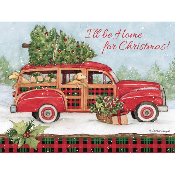 12-Count  Home For Christmas Cards