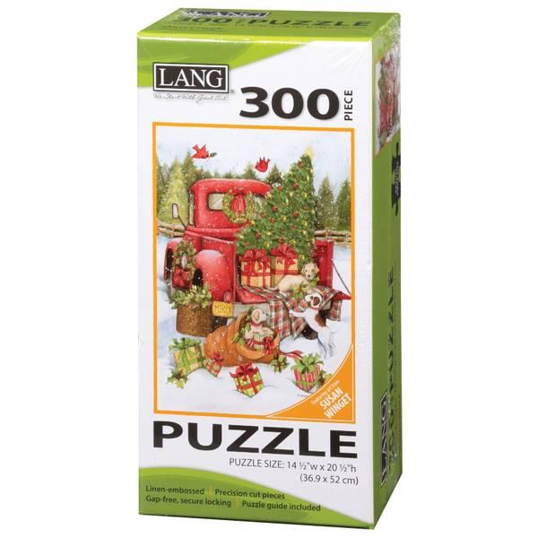 300-Piece Santa's Truck Puzzle