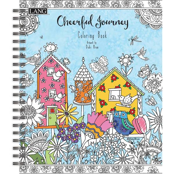 Cheerful Journey Coloring Book
