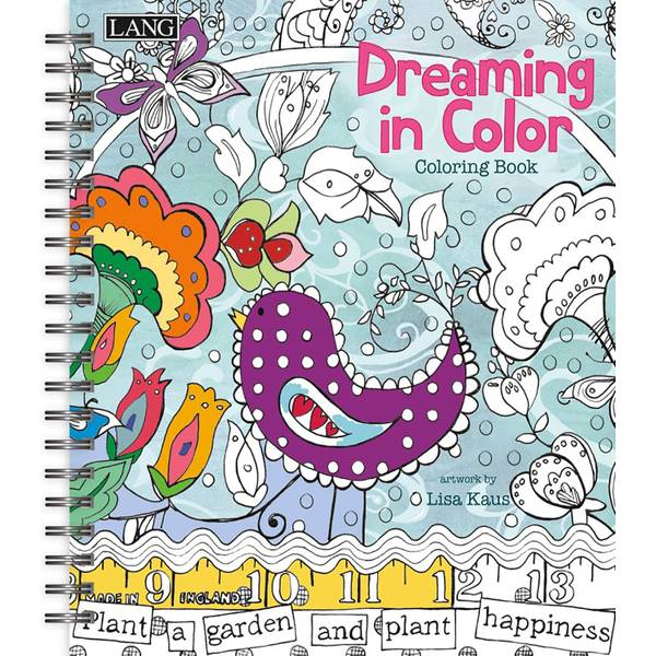 Dreaming in Color Coloring Book