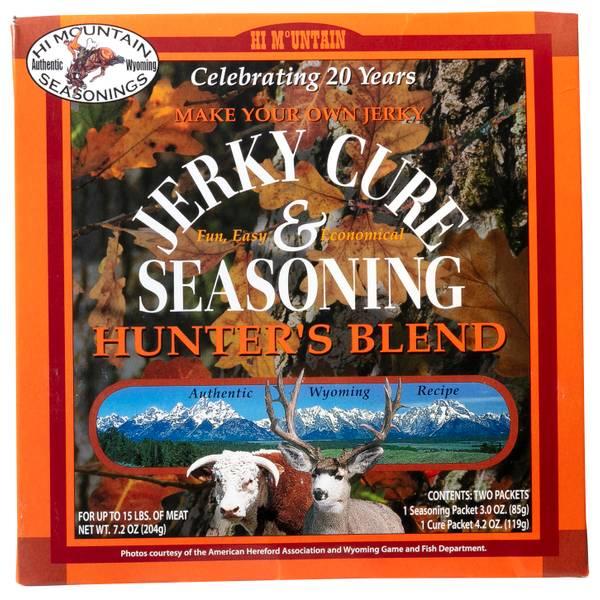 Hunter Blend Jerky Cure & Seasonings