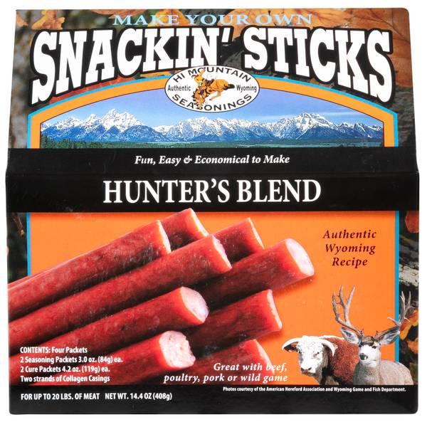 Hunters Blend Snackin' Stick Kit