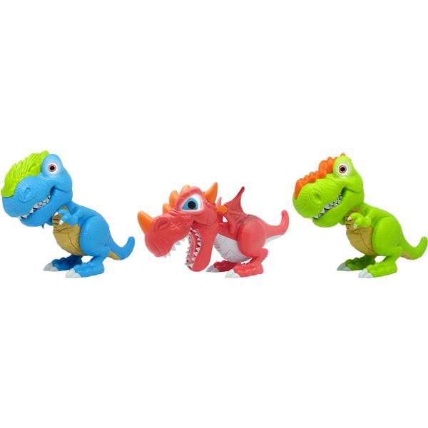 Junior Megasaur Bend & Bite T-Rex Assortment