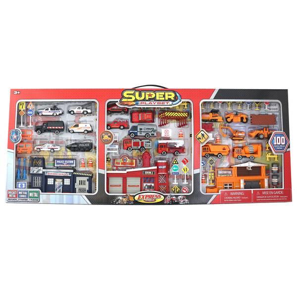 Express Wheels Super Play Set 110-Piece