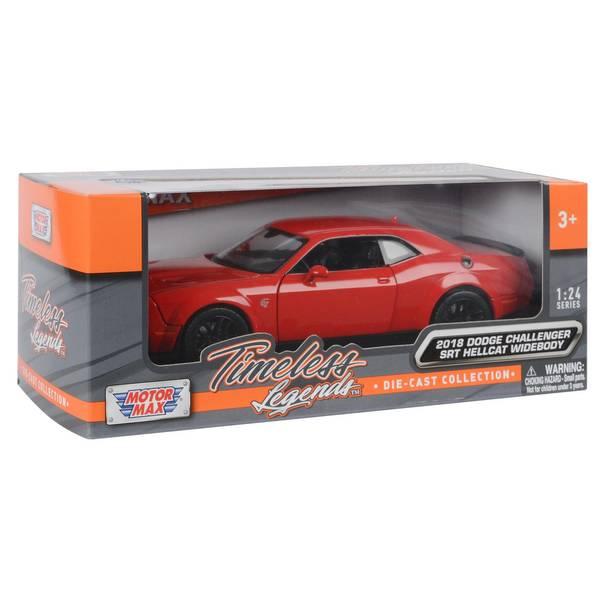 1:24 Die Cast Modern Muscle Car Assortment