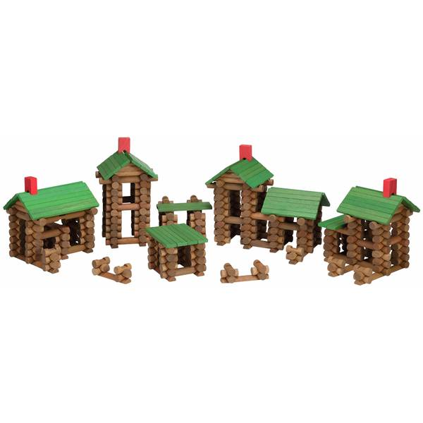 450-Piece Tumble Tree Wooden Timbers Set
