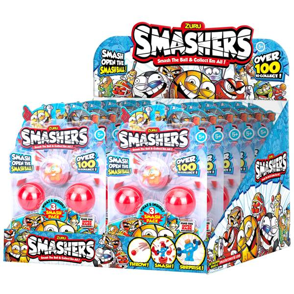 Smashers 3-Pack Collectibles Series 1 Assortment