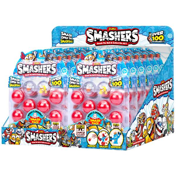 Smashers 8-Pack Collectibles Series 1 Assortment