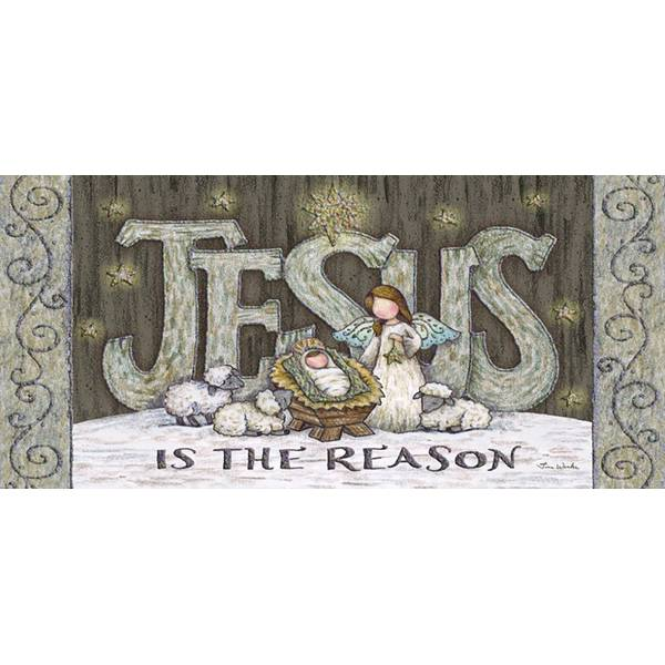 14-Count Jesus is the Reason Long Holiday Cards