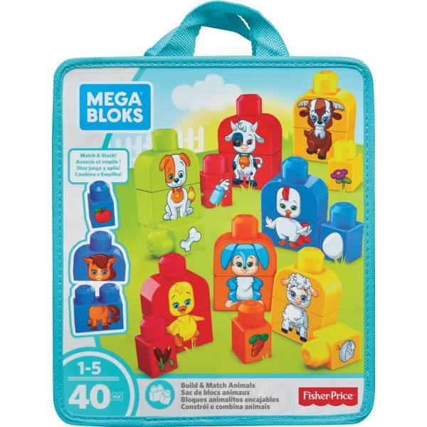 Mega Bloks Build & Match Animals