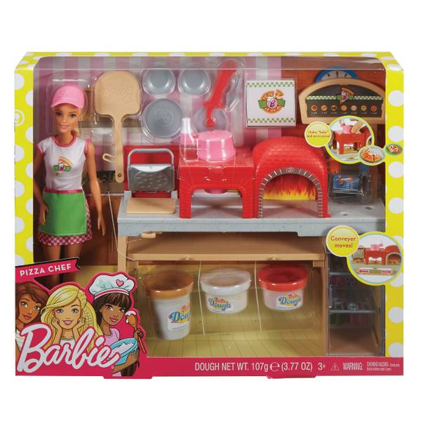 Pizza Chef Doll and Playset