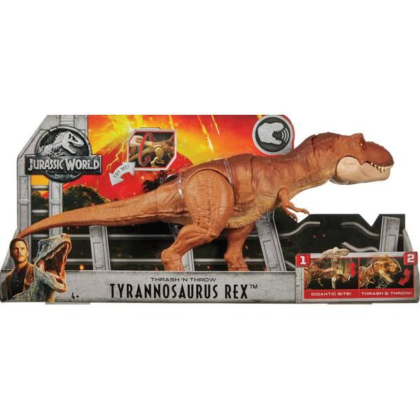 Jurassic World Thrash 'N Throw T-Rex