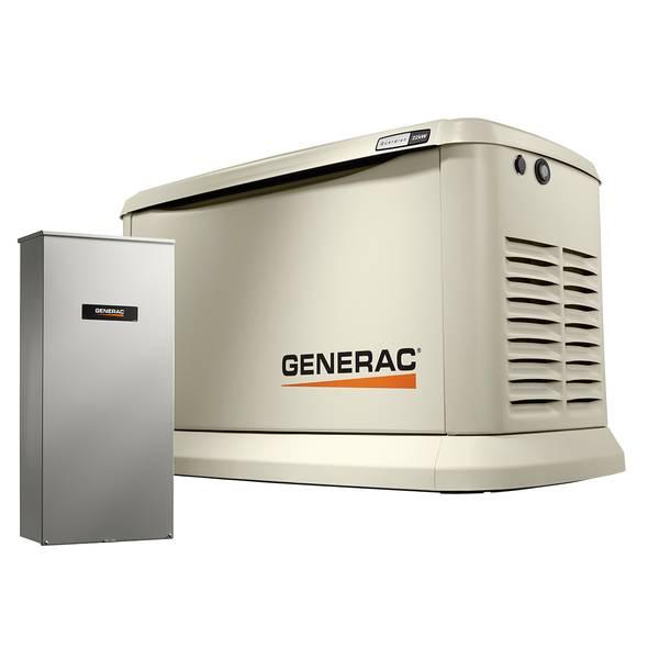 22kW/19.5kW Guardian Series generator Wi-Fi Alum Enc 200A Generator