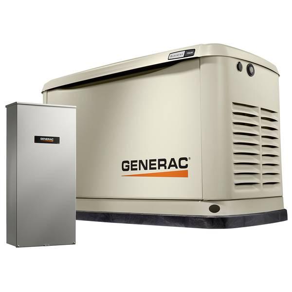 11/10kW Guardian Series Wi-Fi, Alum Enc 100A Generator