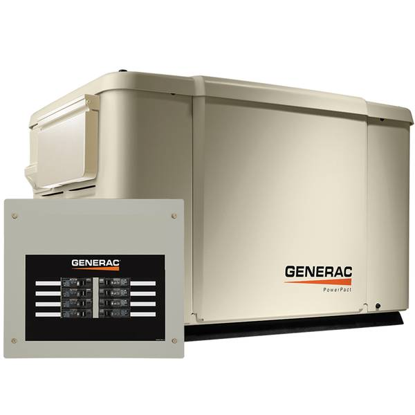 7.5/6kW PowerPact Steel Enclosure Generator