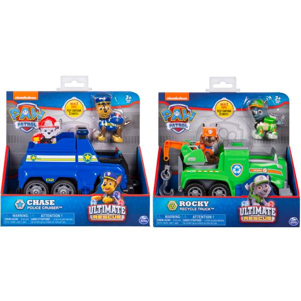 Paw Patrol Ultimate Rescue Vehicle Assortment