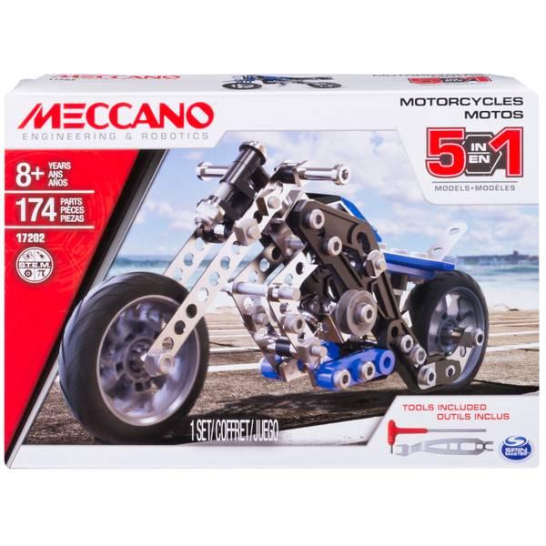 5 Model Building Set Motorcycle