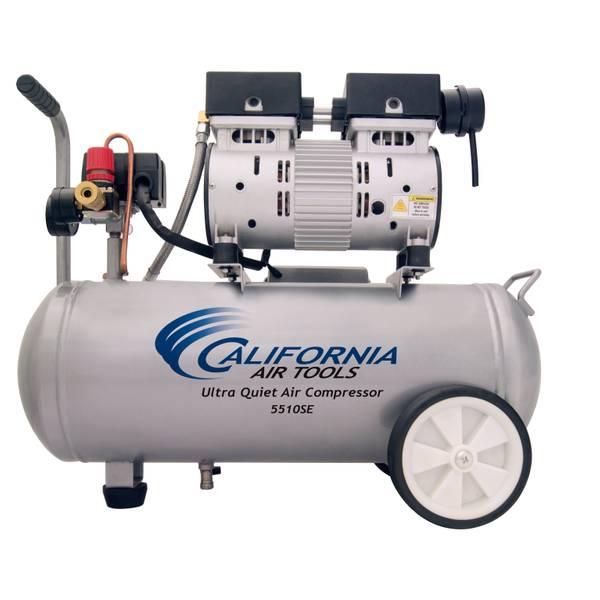 1HP 5.5 Gallon Steel Air Compressor