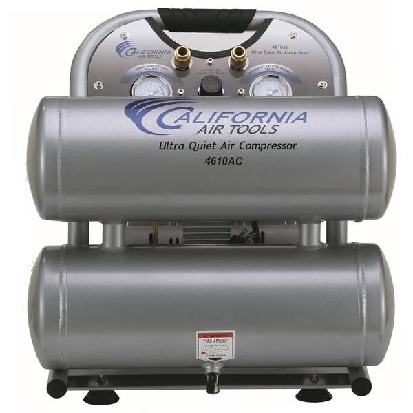 1HP 4.6 Gallon Aluminum Air Compressor