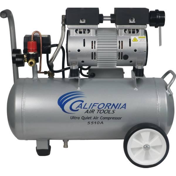 1HP 5.5 Gallon Aluminum Air Compressor