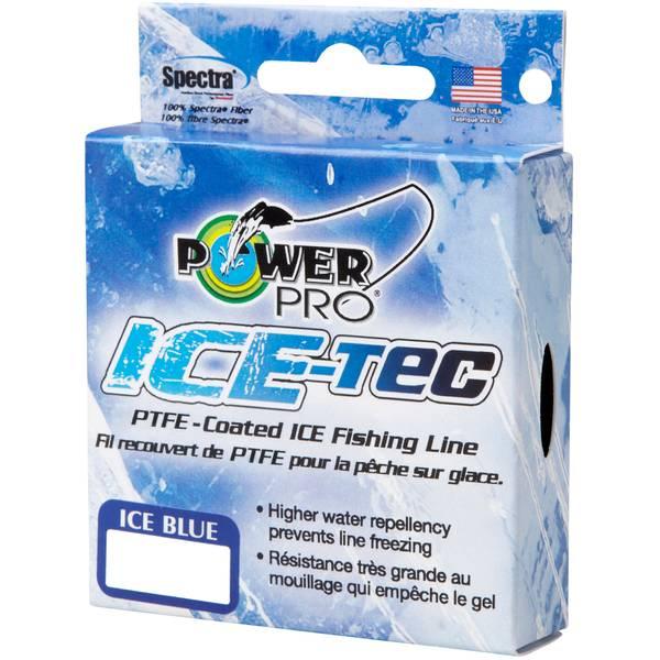 15lb Ice Blue Power Pro Ice Tec Line