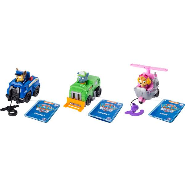 Paw Patrol Pup & Vehicle Rescue Racers Assortment