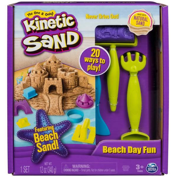 Kinetic Sand Beach Day Fun Kit