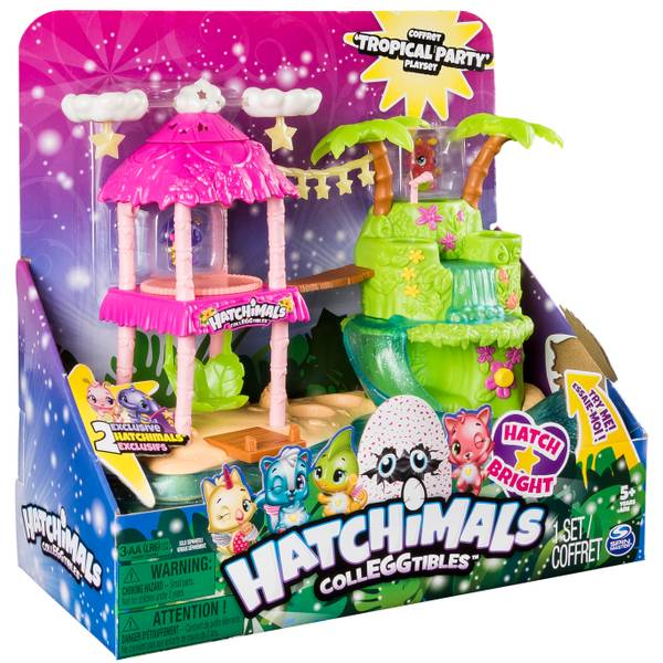 Hatchimals Colleggtibles Island Deluxe Playset