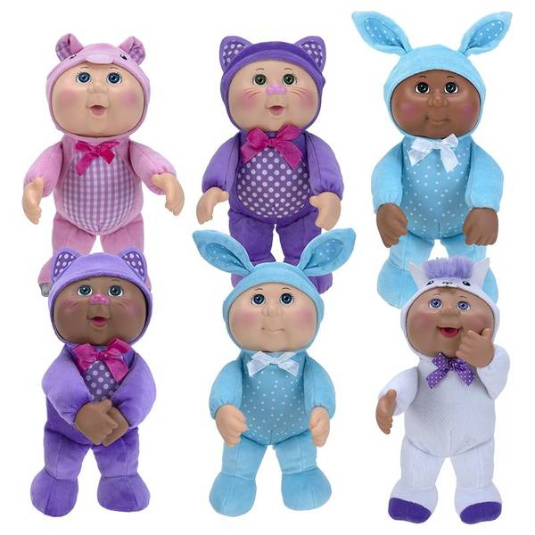 """9"""" Cabbage Patch Zoo Friend Cuties Assortment"""