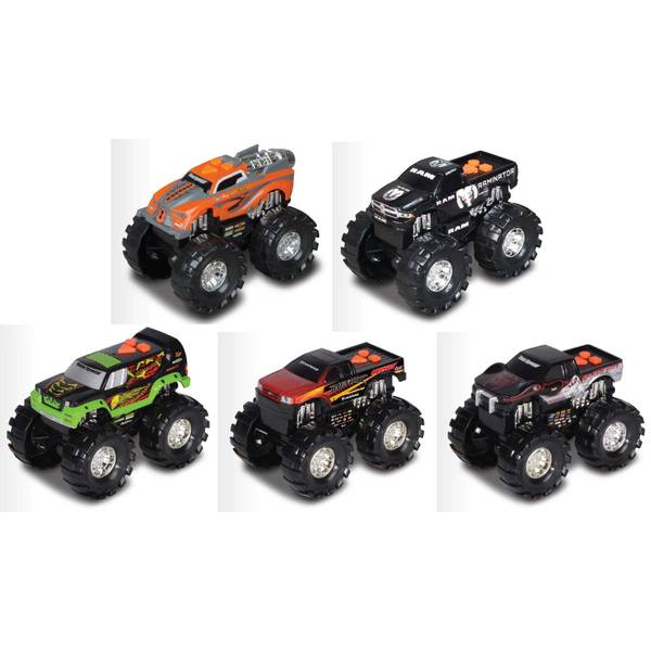 "Road Rippers 5"" 4x4 Monster Truck Assortment"