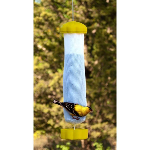 Blooming Yellow Flower Finch Feeder