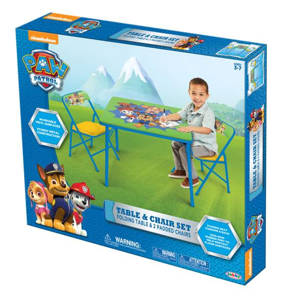 Paw Patrol Activity Table & Chairs