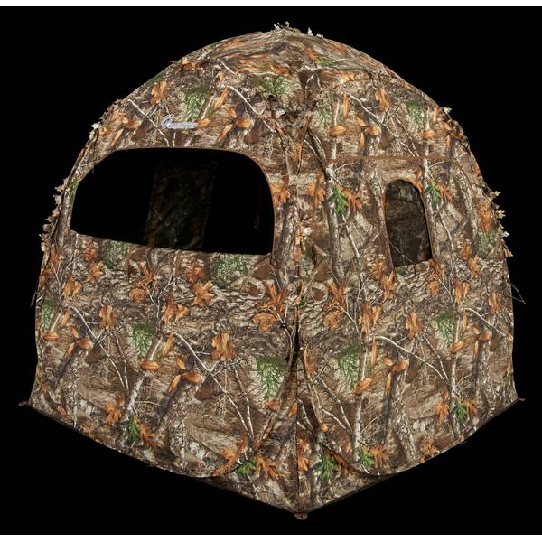 Doghouse Realtree Edge Ground Hunting Blind